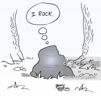 Boulder thinks: 'I rock.'