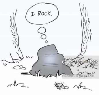 Boulder thinks: 'I rock.'
