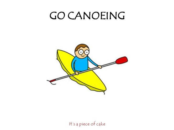 go-canoening